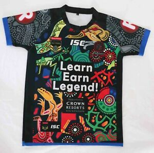 Indigenous All Stars 2017 NRL Rugby League Jersey ISC - Men's Size S