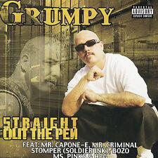 GRUMPY STRAIGHT OUT THE PEN CHICANO RAP CD RARE