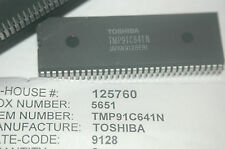 TOSHIBA TMP91C641N 64-Pin 8-Bit Microcontroller A-D Converter New Qty-1
