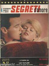 FOTOROMANZI SEGRETI D'AMORE # 17-NOVEMBRE 1963 - LIZ TAYLOR-GEORGE PEPPARD