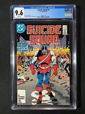 Suicide Squad #4 CGC 9.6 (1987) - 1st app of William Hall
