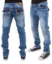 Denim King Men's Denim Ripped Frayed Jeans, Time Is Money New Hip Hop Star Era G