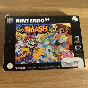 Boite Seule Du Jeu Super Smash Bros 64 Nintendo 64