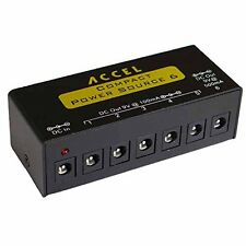 Power Supply for Guitar Effects Pedals  Accel Compact Power Source 6