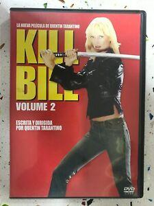 KILL BILL DVD VOLUMEN 2 QUENTIN TARANTINO MIRAMAX UMA THURMAN AM