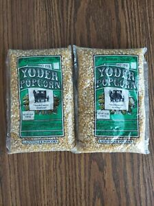 2 Pack Yoder Popcorn Amish Country Ladyfinger 1.5 lb