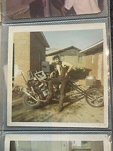1960s photo album outlaw biker chopper mc motorcycle club vietnam 1% So Cal