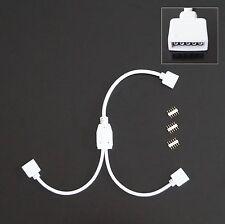 Y-Kabel für RGBW LED Strip, Adapter, Kupplung, Verteiler 1 zu 2,Verbindungskabel