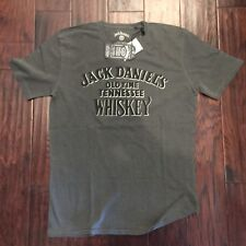 NEW Offical Lucky Brand JACK DANIELS Mellowed T-Shirt - Size LARGE