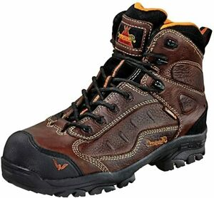 """Thorogood 804-4038 Waterproof Z-Trac Hiker Composite Safety Toe Work Boot 6"""" IN"""