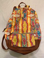 Packback Colorful/vintage Artful Bookbag/school Bag