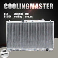 Aluminum Radiator For 97-01 Toyota Camry L4 2.2L CE LE XLE SE AT/MT 2 Cores