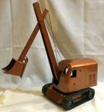 Vintage Structo Construction Steam Shovel, Pressed Steel Steam Shovel Toy,1950's