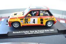 88179 1/32 FLY CAR MODEL, SLOT CAR RENAULT 5 TURBO TOUR DE FRANCE AUTO 1980