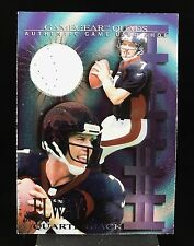 1997 COLLECTOR'S EDGE EXTREME GAME GEAR QUADS #10S - John Elway Rare Shoe Card