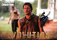 DARYL DIXON (Norman Reedus) / Walking Dead Evolution BASE Trading Card #16
