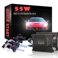 Quick Start 55W Xenon 9012 9012LL HIR2 Digital HID Conversion Kit Headlight Lamp