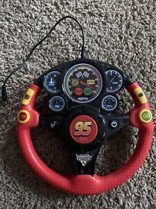 Disney Pixar Lightning McQueen Steering Wheel Toy compatible to phone