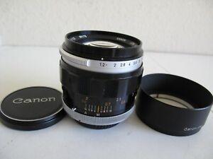 vintage Canon FL 55mm f1.2 FAST Prime Lens