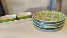 English Garden Snack set Vintage Home Interiors & Gifts