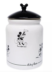 Disney Mickey Mouse Signature Cookie Jar -  NEW