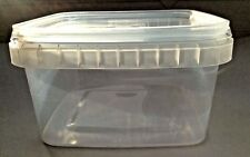 680 ml clear Plastic Square Food Containers  x 160