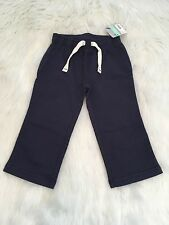CARTER'S A0217 Toddler Baby Boy Size 18M Navy Sweat Paints 100% Cotton