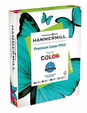Hammermill Paper, Laser Print, 24lb, 8.5 x 11, Letter, 98 Bright, 500 Sheets/1