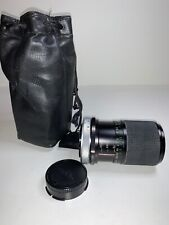 Vivitar Lens MC 70-150mm 1:3.8 Macro Focusing Zoom Lens Ø52mm C/FD & Cap & Case