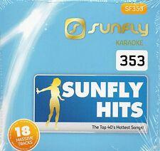 Musical Instruments & Gear Sunfly Karaoke Hits 360 Cdg 18 Chart Tracks Feb 2016 Sf360 Cd+g Disc Pop Hits Karaoke Cdgs, Dvds & Media