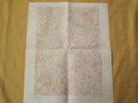 VINTAGE OLD 1929 STRAFFORD  VT  VERMONT TOPOGRAPHY TOPO MAP