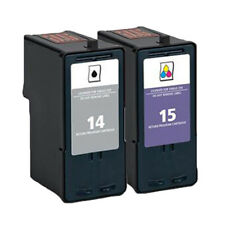 Remanufactured Ink For Lexmark X2600 X2620 X2630 X2650 X2670 Z2300, Set of 2