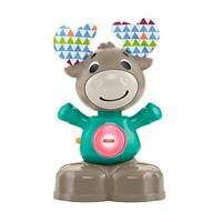 Fisher-Price GHR20 Linkimals Musical Moose, Interactive Baby Toy with Lights and