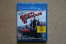 BLU-RAY  FAST AND FURIOUS 6    BRAND NEW SEALED UK STOCK