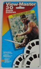 NEW SEALED VIEW-MASTER THE LEGEND OF INDIANA JONES 3 REELS 3-D (1989)