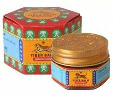 TIGER BALM RED HERBAL RUB RELIEF MUSCLES MUSCULAR PAIN 10 g.