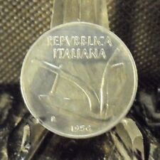 CIRCULATED 1956 10 LIRA ITALIAN COIN! (82318)1.....FREE DOMESTIC SHIPPING!!!!!