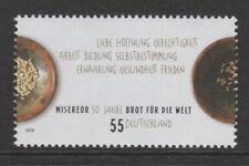 Germania 2009 collaborava e Pane per il mondo SG 3575 Gomma integra, non linguellato