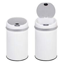 Automatique Capteur Poubelle Poubelle Poubelle mains libres sans contact Blanc 50 L cuisine