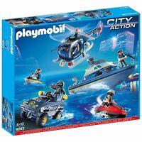 PLAYMOBIL® CITY ACTION - S.W.A.T. MEGA-SET - Playmobil 9043 - NEU