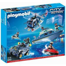 Playmobil ® City Action-S.W.A.T. mega-set-Playmobil 9043-nuevo