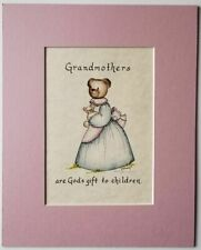 Grandmothers are God's gift to children             Kristine Dimmich bears print