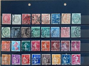 FRANCE:  Mixed Collection of  93 Stamps - Used