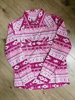 Panhandle Slim Pink Aztec Snap Up Long Sleeve Western Shirt C6S3651   SALE!!