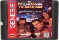 WWF WrestleMania The Arcade Game (1995) 16 Bit Game Card For Sega Genesis