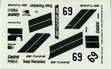 BMW 2002 N° 69 TEAM WARSTEINER DRM 1975 ORBEMSER DECALS 1/43