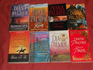 DIANA PALMER Lot of 8 Mass Market Paperback Books WESTERN Love Stories