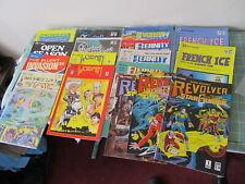 Renegade Comics lot of 17 comics Eternity Smith Revolver French Ice more