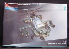 Monogram 1:48 Scale AH-64 Apache Helicopter Model Kit #5443 NIB Sealed