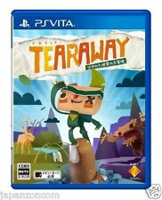 Used PS Vita Tearaway Hagareta Sekai SONY PLAYSTATION JAPANESE IMPORT
